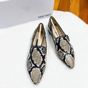 NINE WEST jessa pointed toe loafer 6.5
